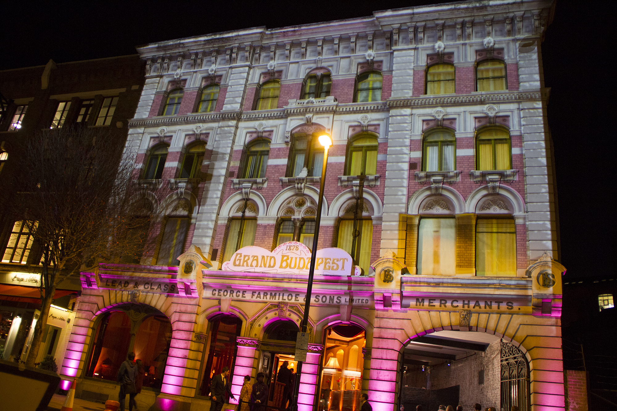 A grand affair secret cinema s grand budapest hotel for Hotel secret