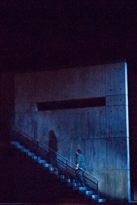 Macbeth's shadow beckoning him to murder